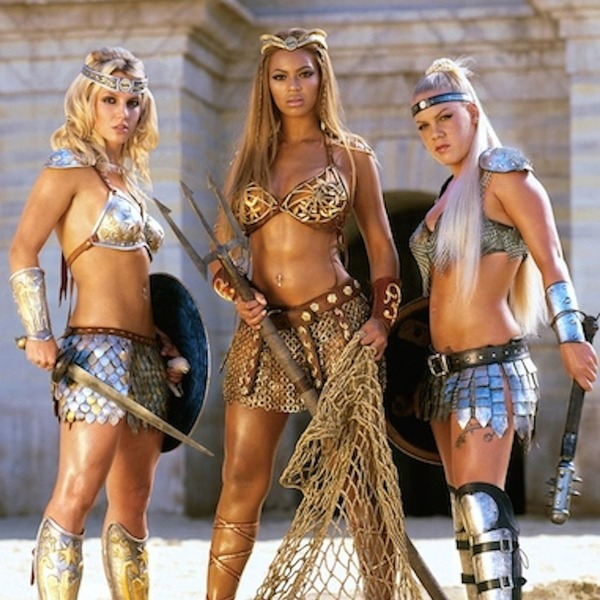 Pepsi Gladiators From Beyonc 233 Moments You Forgot Existed